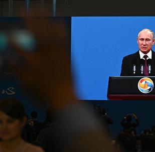 普京:俄中合作达到史无前例的高水平