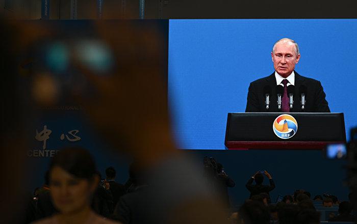 普京:俄中合作達到史無前例的高水平