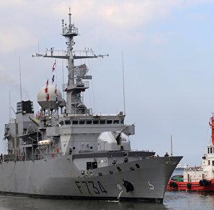 法国军舰为何出现在台湾海峡?