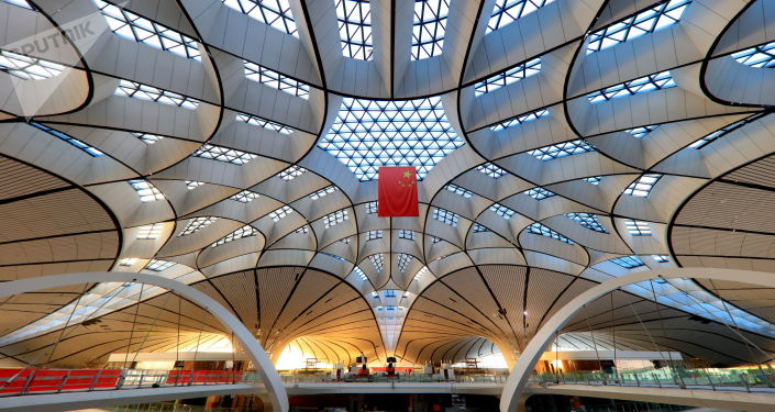 在建的北京大兴国际机场