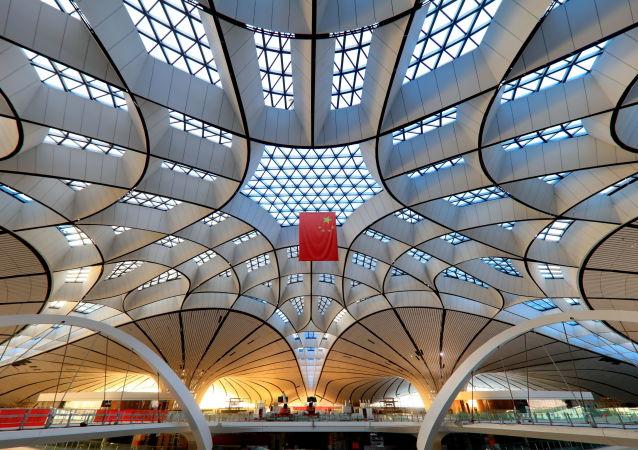 在建的北京大興國際機場