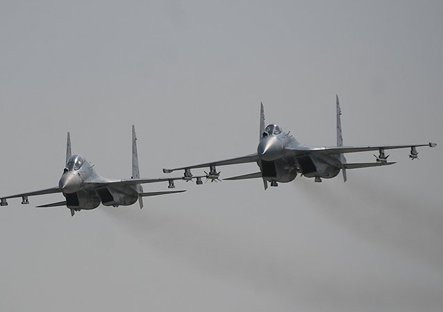 Многоцелевые истребители Су-30М2