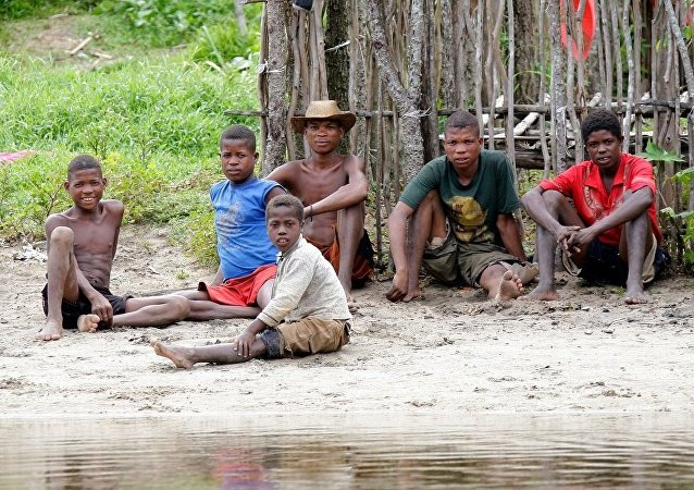 非洲家庭(资料图片)