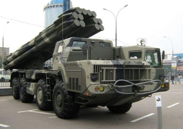 龙卷风-S多管火箭炮系统