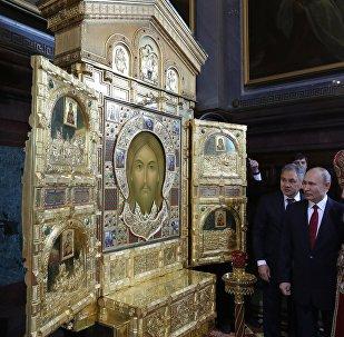 普京祝贺东正教徒复活节快乐