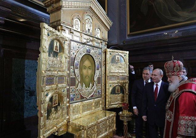 普京祝賀東正教徒復活節快樂