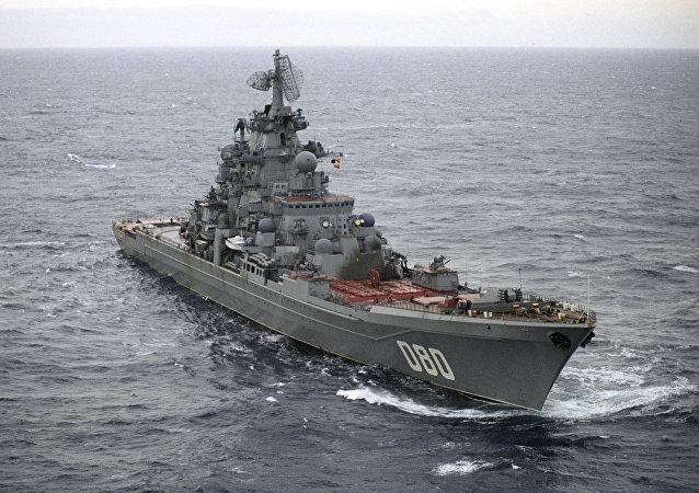 """俄罗斯""""纳西莫夫""""号核巡洋舰"""