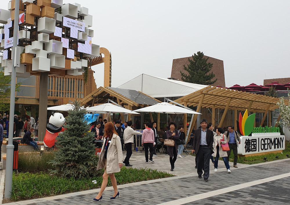 世界园艺博览成为北京春天出游的第一热点