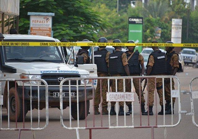 Полиция Буркина-Фасо