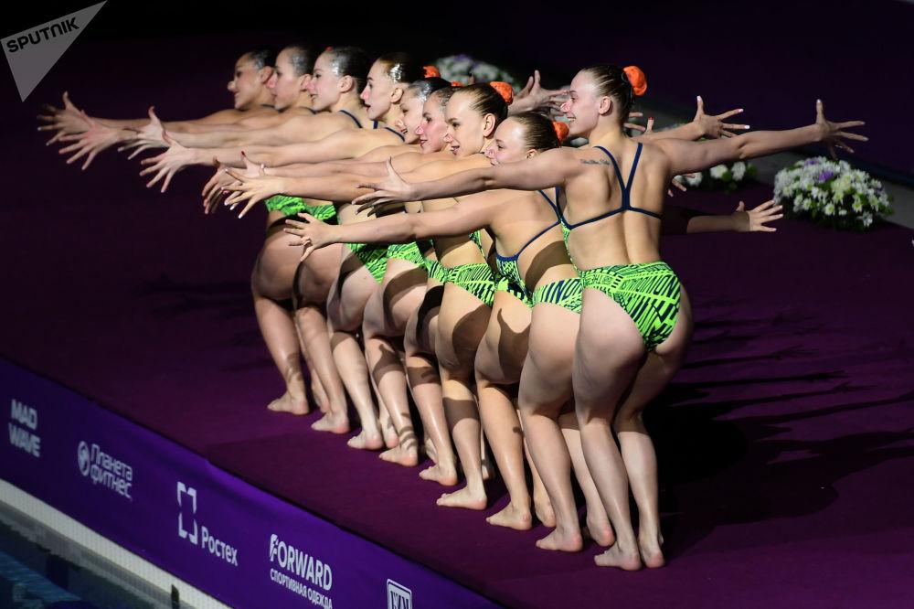 花样游泳世界系列赛音乐会。