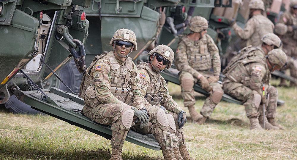 美国将向欧洲派遣2万名士兵参加