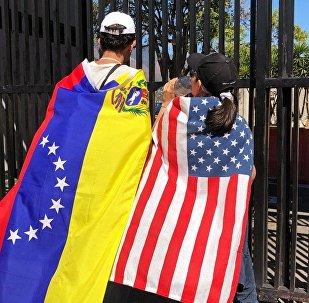 委内瑞拉反对派议长代表与美国军方举行会谈