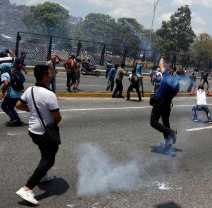 聯合國:聯合國秘書長敦促委內瑞拉各方保持最大限度克制