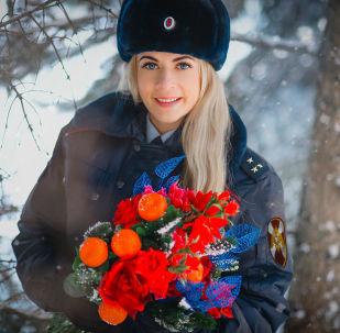 俄罗斯国民警卫队的第一批美女