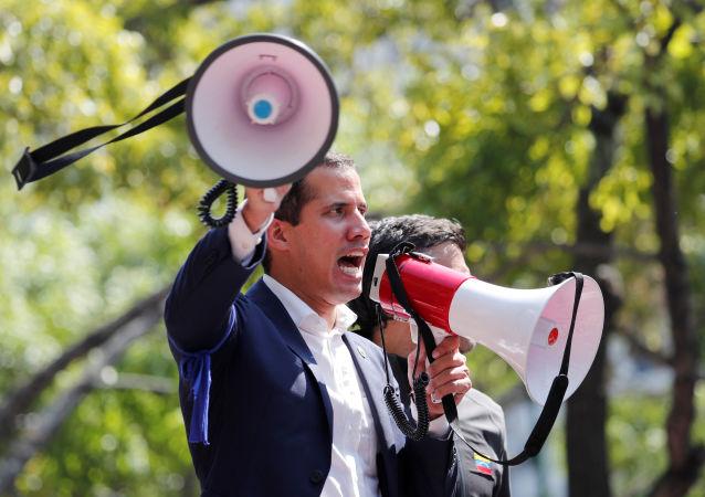 瓜伊多承认在委内瑞拉的政变企图失败并打算赞同美国干涉的方案