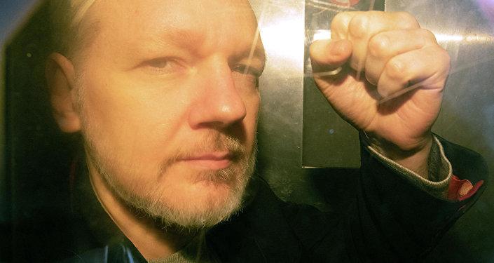 維基解密創始人阿桑奇