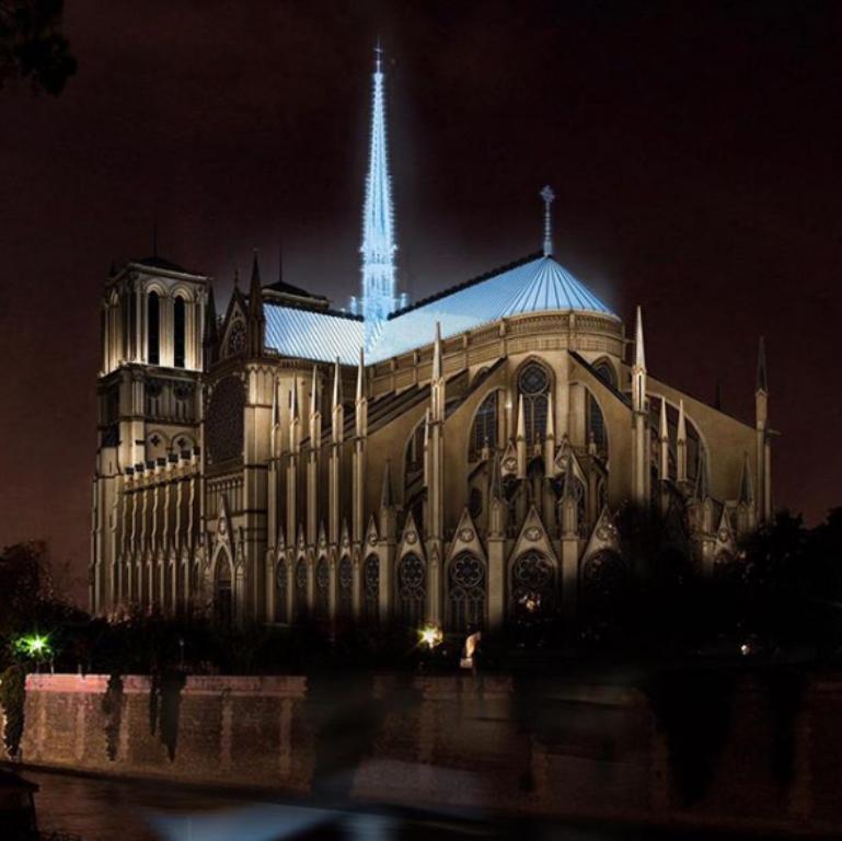 關於巴黎聖母院的設計方案