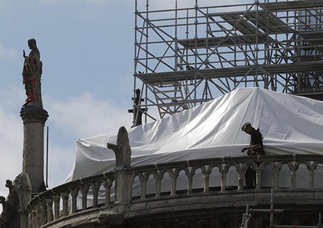 """新巴黎圣母院——""""被盖起来的搅拌机""""?"""