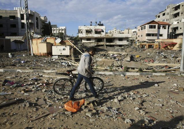 哈马斯: 以色列空袭加沙 哈马斯一指挥官身亡