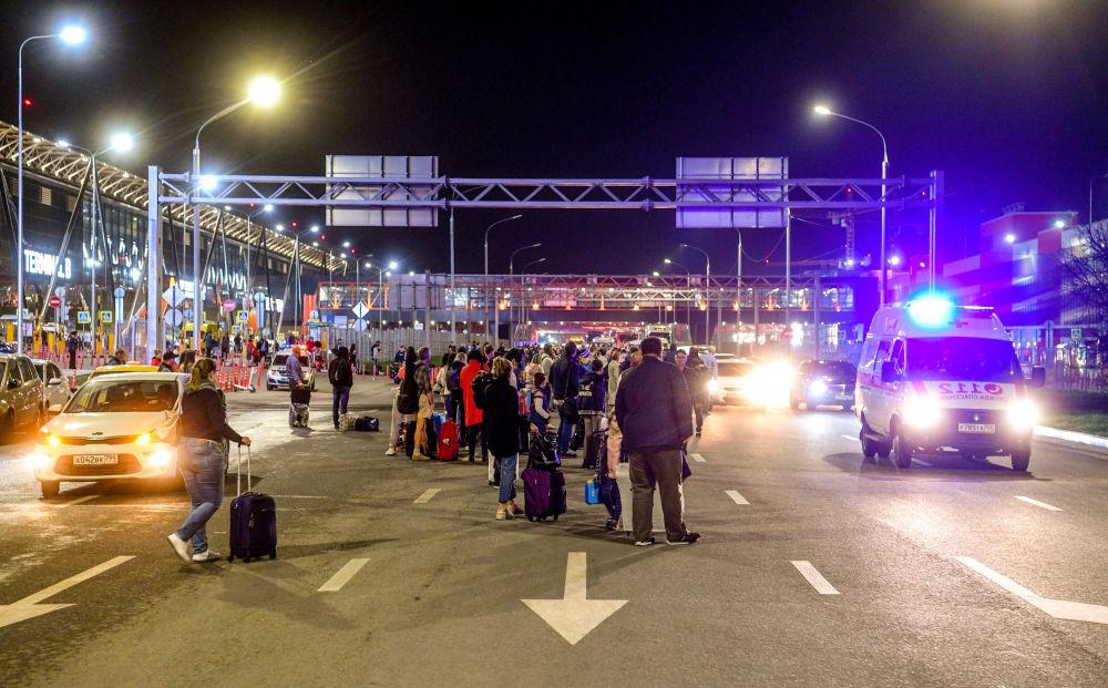 谢列梅捷沃机场的乘客