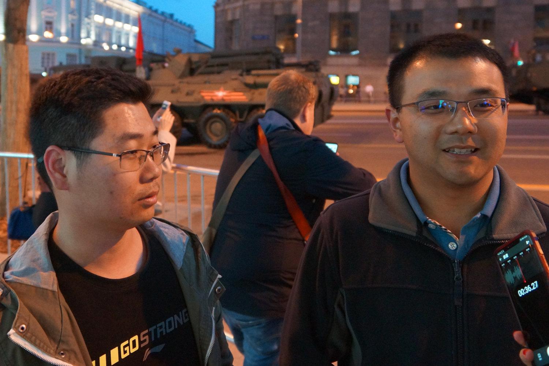 来自武汉的游客