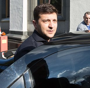 乌克兰当选总统泽连斯基