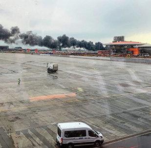 克宫:普京听取部长有关俄航SSJ-100航空事故的汇报