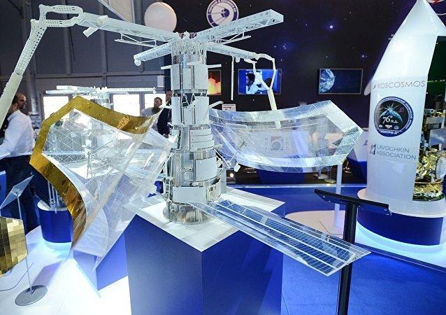 """""""芍药-NKS""""雷达卫星的模型"""