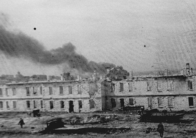俄国防部公开解放塞瓦斯托波尔珍贵档案