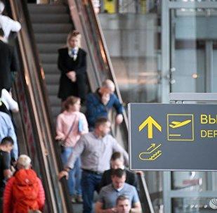 莫斯科機場超過20次航班延誤或取消