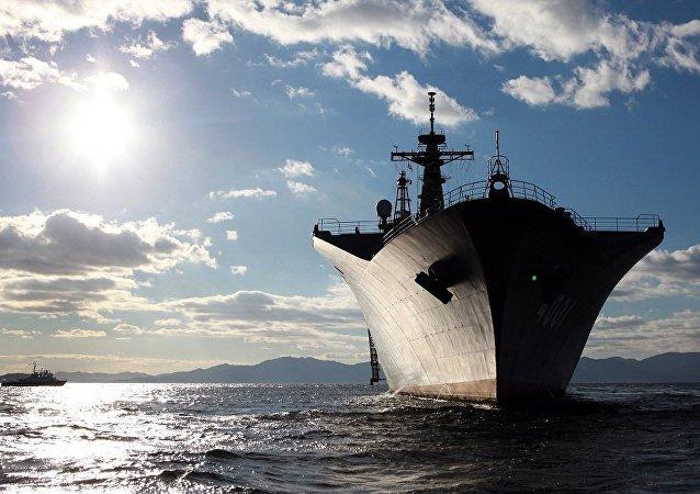 日本準備在軍艦上部署登陸部隊