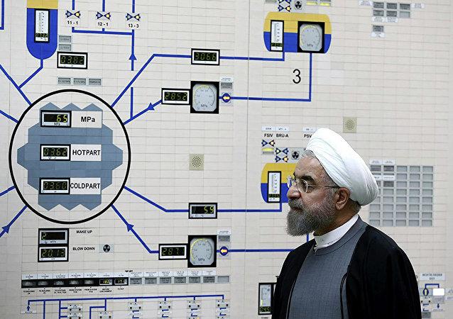 伊朗總統:美國的行為給中東地區的穩定帶來嚴重威脅