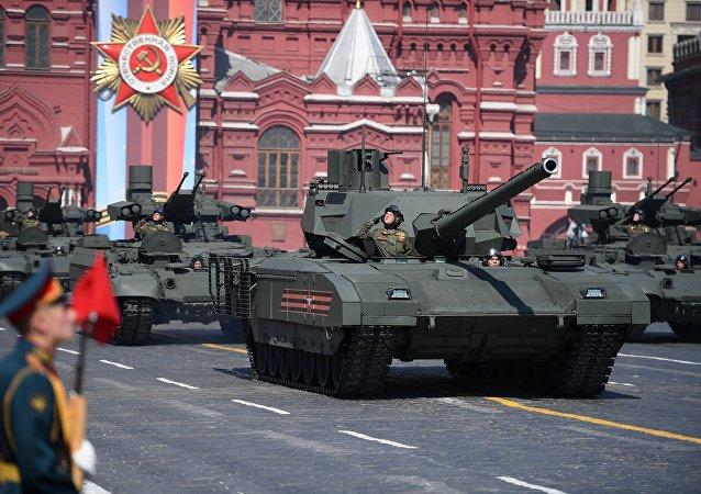 Парад Танк Т-14 армата