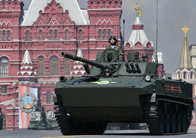 Парад Боевая машина десанта БМД-4М Садовница