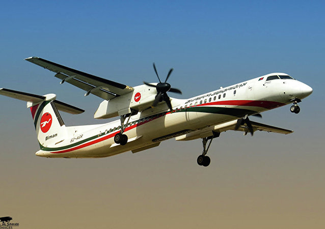 孟加拉比曼航空公司飛機
