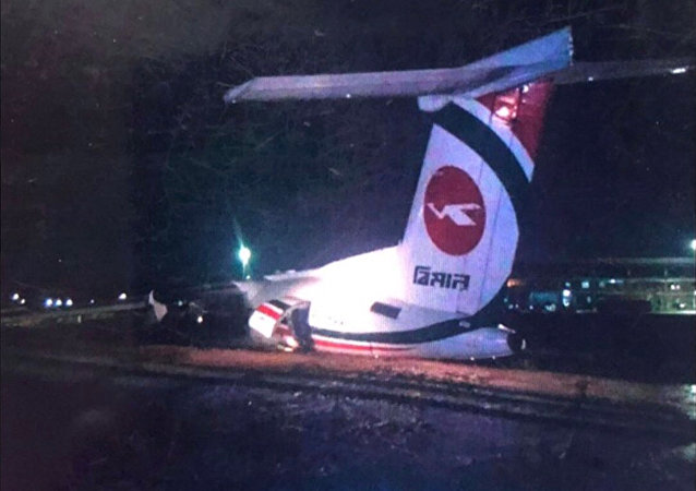 孟加拉國航空公司一架飛機在緬甸機場失事