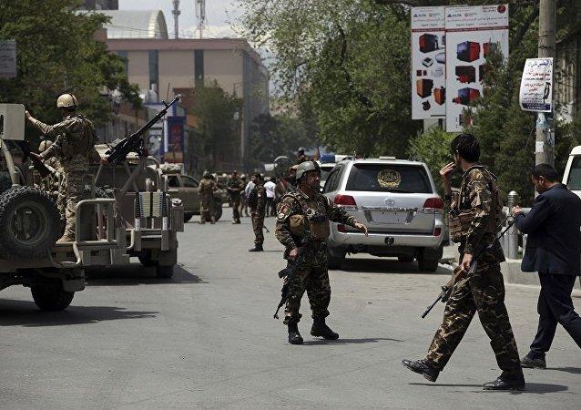 喀布尔市内一家人道主义组织遇袭导致29人伤亡