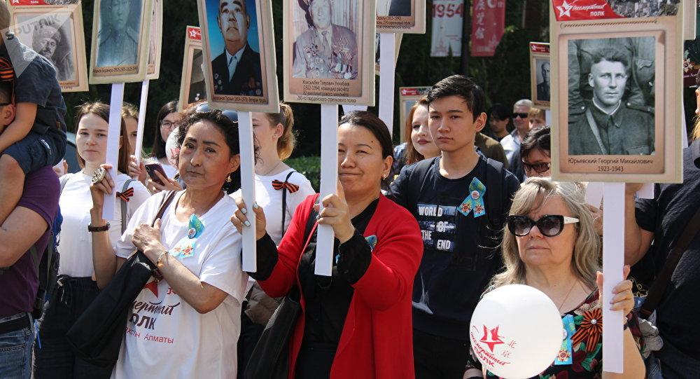 """在北京每年有越来越多的人参加 """"不朽军团""""活动"""