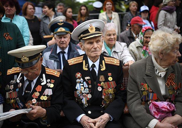 Парад ветераны
