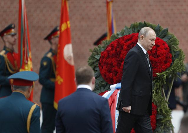 Путин венок