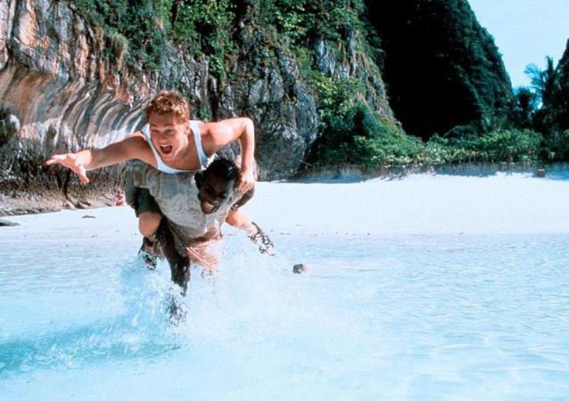 Кадр из фильма Пляж