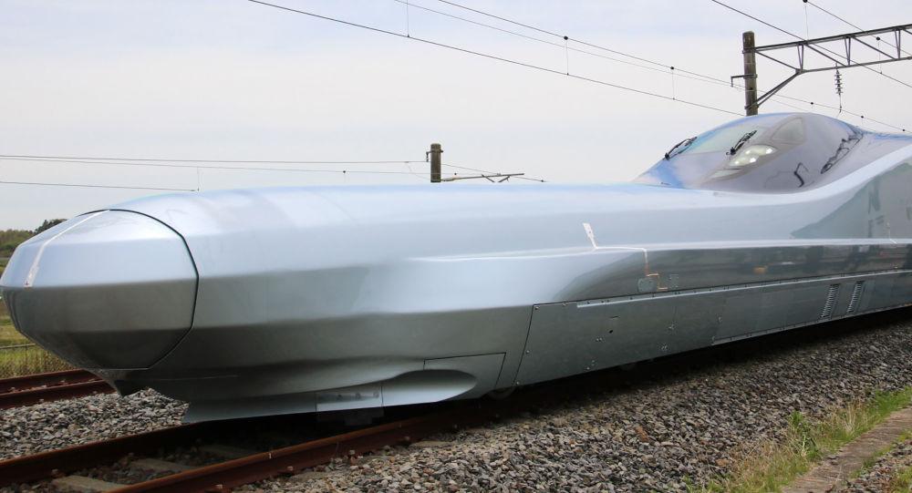 日本测试时速高达360公里的新型高速列车