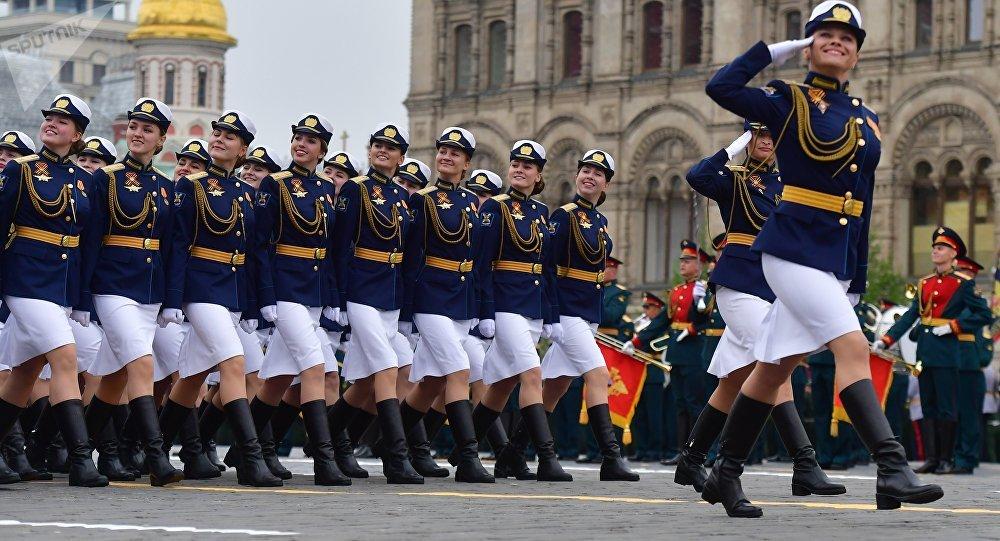 2019年5月9日,莫斯科閱兵式