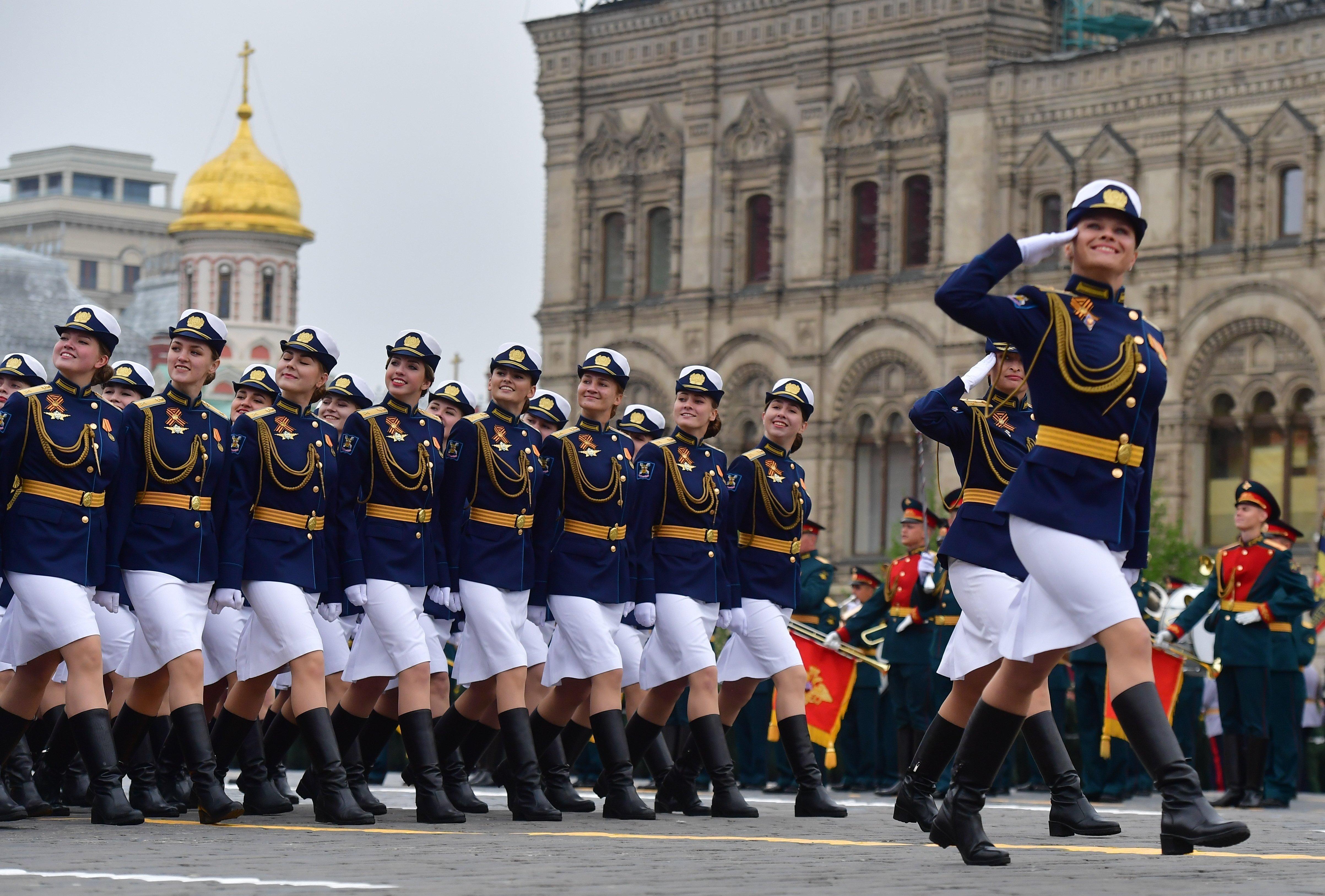 2019年5月9日,莫斯科阅兵式