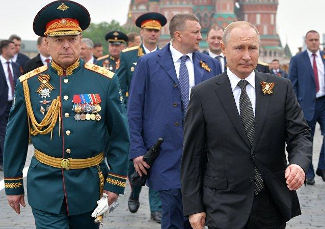 普京评没有战机的胜利日阅兵