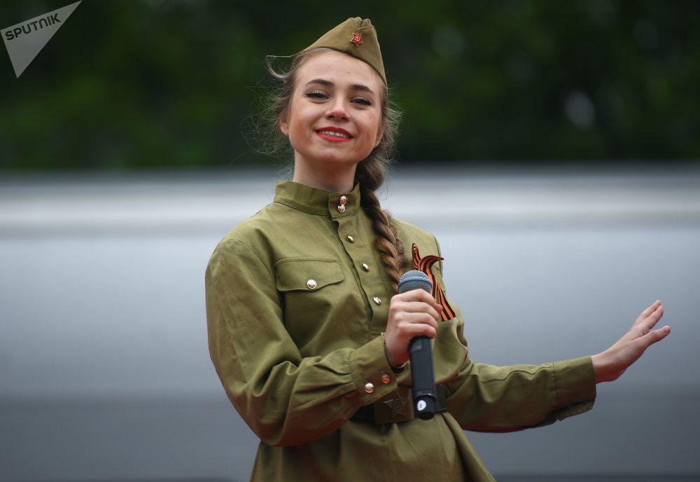 莫斯科胜利日庆祝活动