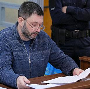 """""""俄新社乌克兰""""网站负责人在乌克兰狱中致信感谢同事的支持"""