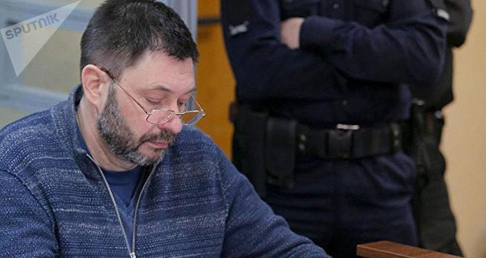 「俄新社烏克蘭」網站負責人在烏克蘭獄中致信感謝同事的支持