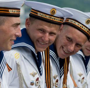 俄罗斯庆祝黑海舰队日
