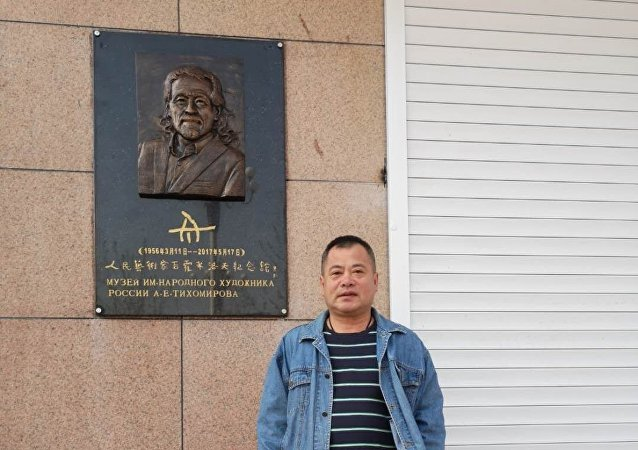 黑龍江藝術品愛好者個人斥資300萬元建俄羅斯人民藝術家紀念館